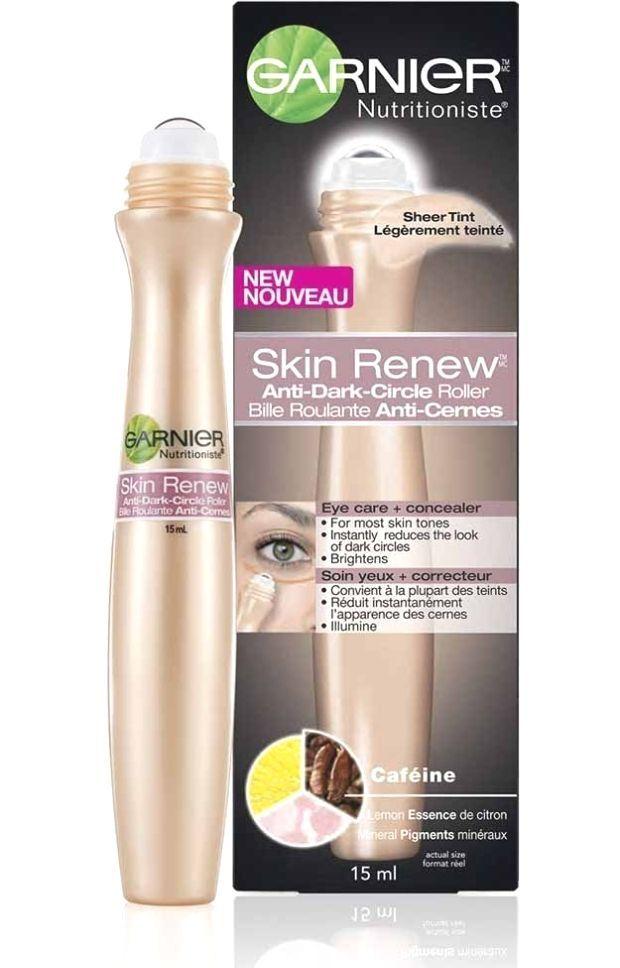 Garnier Skin Renew AntiDark Circle Eye Roller  Best Drugstore Eye Creams Of All Time