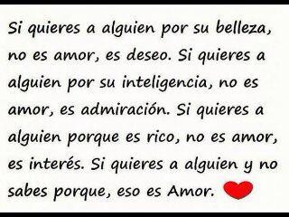 Amor, amor.