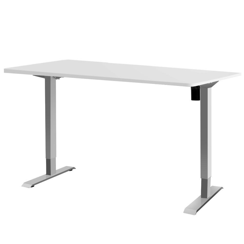 Standing Desk Height Adjustable Motorised Electric Sit Stand Computer Table 140cm Adjustable Height Desk Adjustable Desk Curved Desk