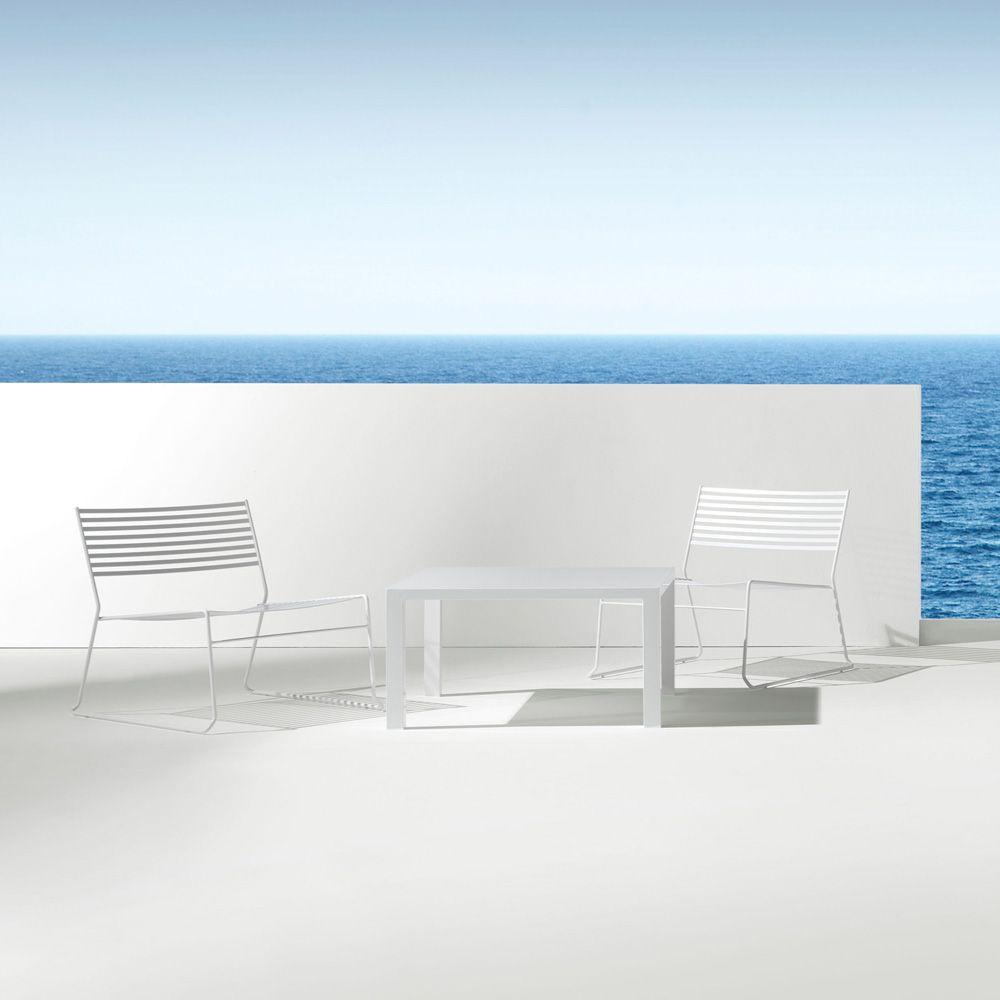"Loungesessel ""Aero"" | Gartenmöbel aus Stahl - www.milanari.com ..."