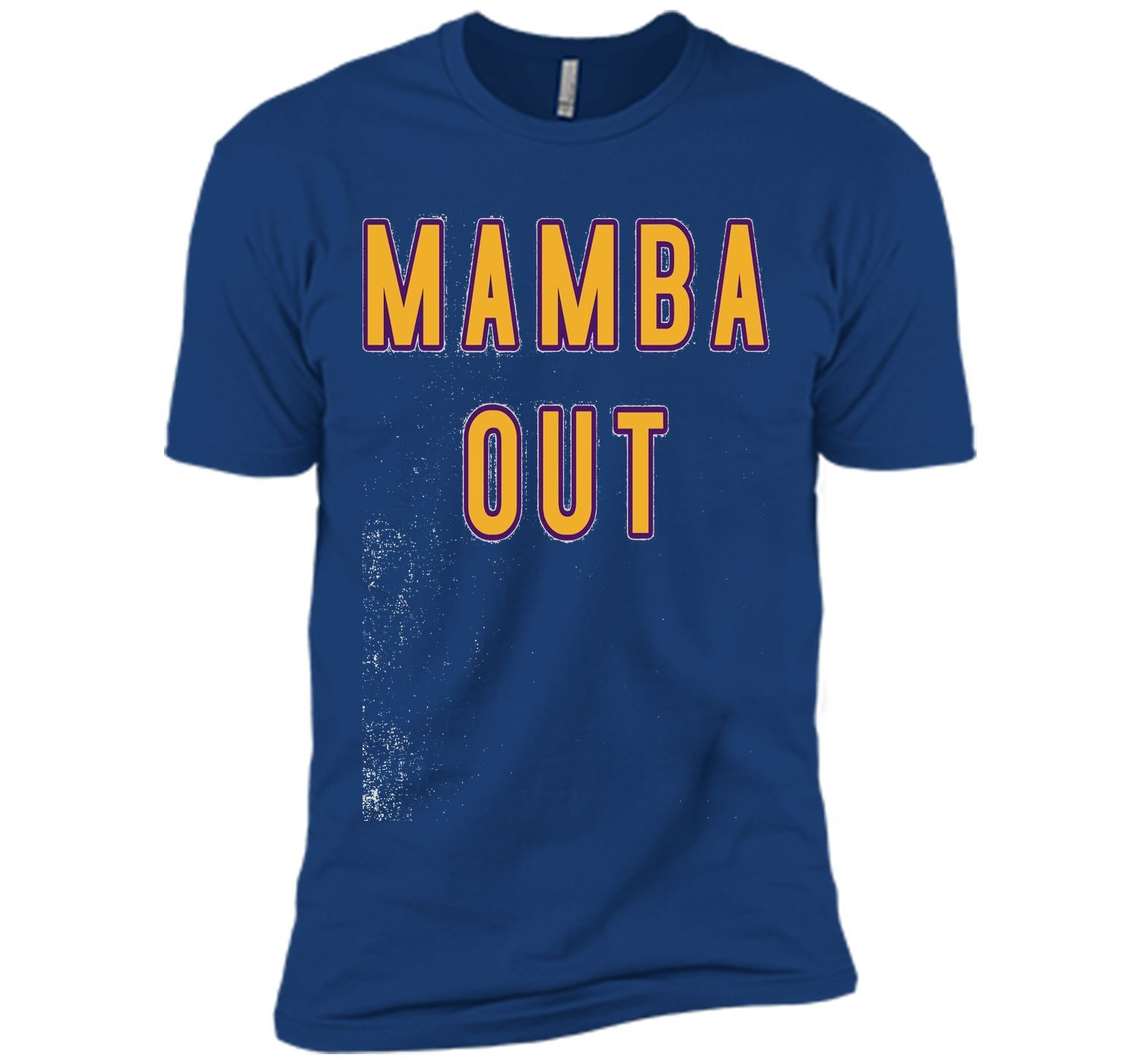 Mamba Out Limited Edition Farewell Tribute T-Shirt