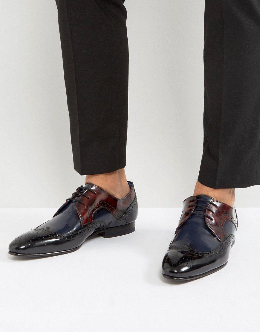 b1850e863 Ted Baker Oakke Hi Shine Derby Shoes In Multi - Multi