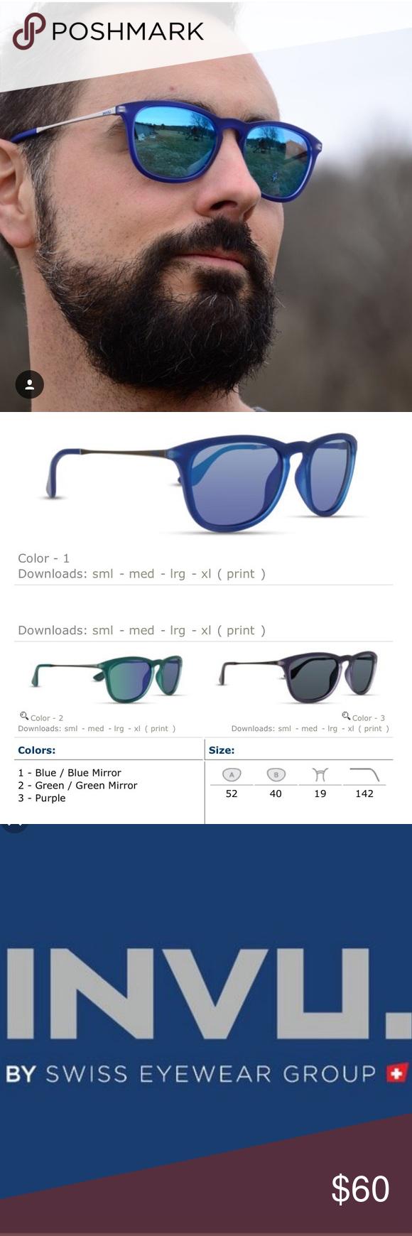 Invu Sunglasses For Men 100 Uv Protection All Colors Available 100 Original Retail Price Feel Free Sunglasses Men Sunglasses Accessories