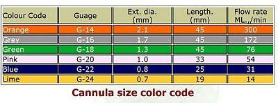 Nursing Skills Guide Iv Cannula Nursing Procedures Color Coding Nurse