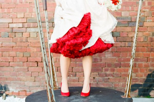 ruffled petticoat. photo by Feather and Stone