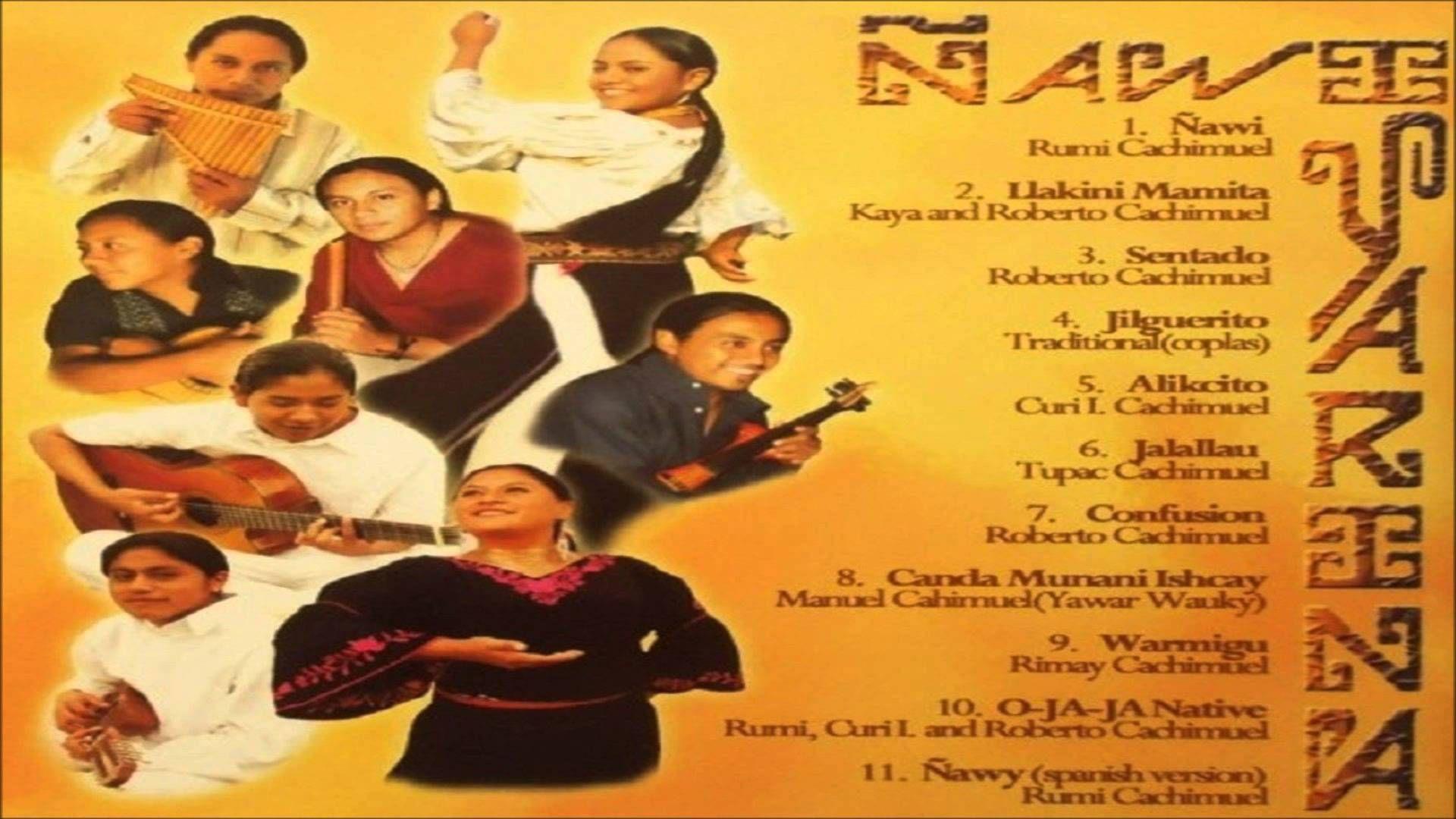 YARINA Ñawi Album Completo (con imágenes) | Album completo ...