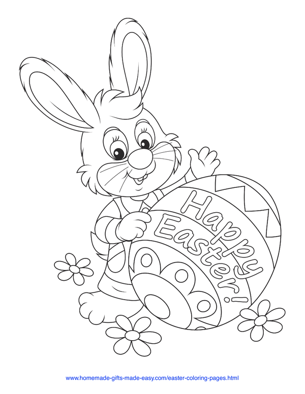 100 Easter Coloring Pages For Kids Free Printables Bunny Coloring Pages,  Easter Bunny Colouring, Easter Colouring