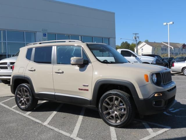 2016 Jeep Renegade Lattitude Mojave Sand Jeep Renegade Jeep