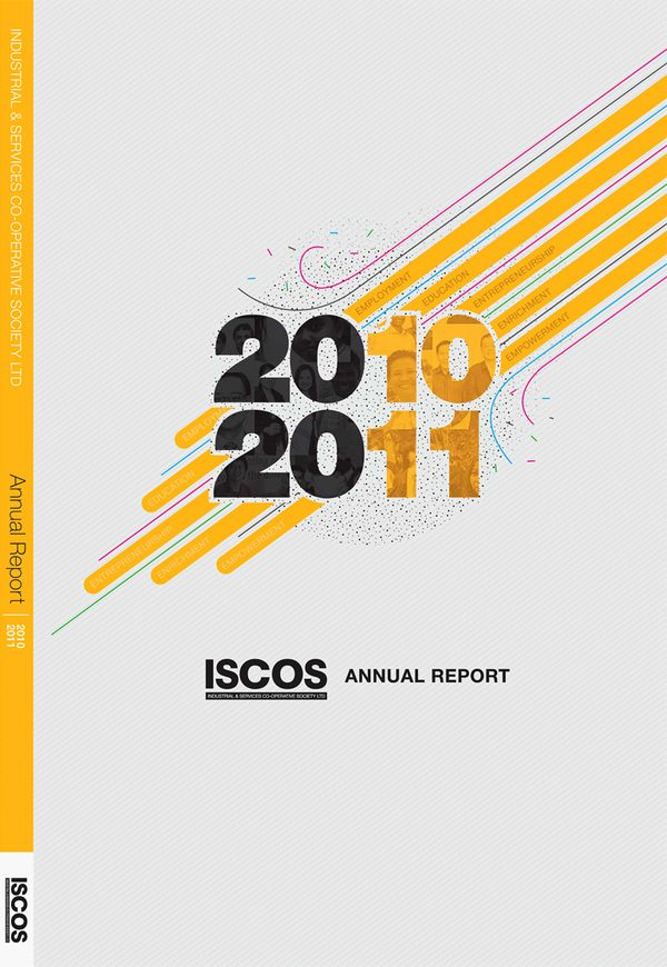 Proposed Annual Report Cover By Winston Cangsuco Via Behance