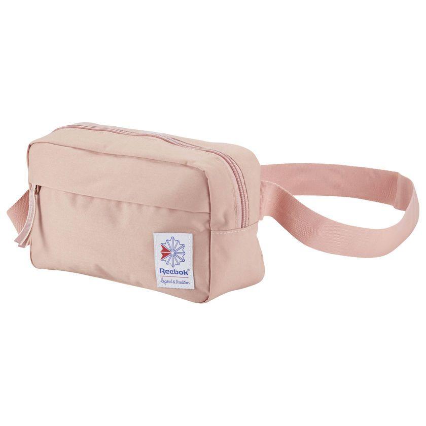 Reebok Men/'s Classic Throwback Zippered Waistbag