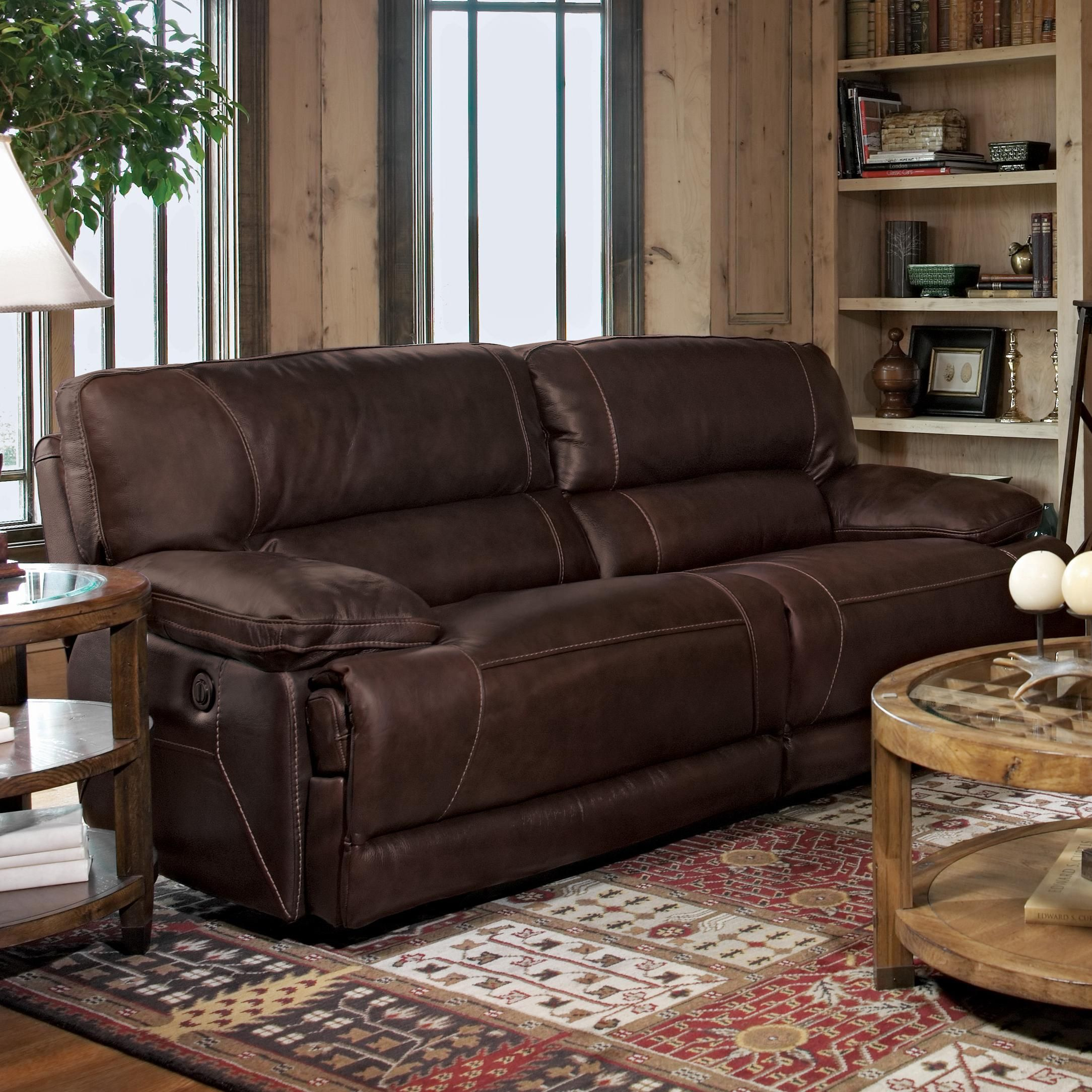 Lancaster Leather Recliner Consider Cognac Chestnut or Distressed
