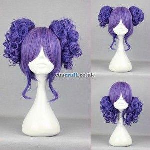 LOLITA WIG Juliet in Blue-Purple