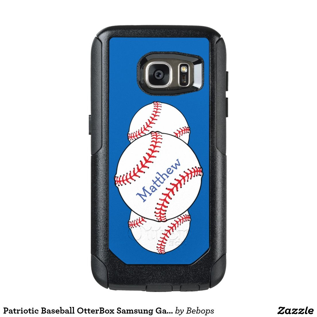 online store ade28 40671 Patriotic Baseball OtterBox Samsung Galaxy S7 Case   Designer Depot ...