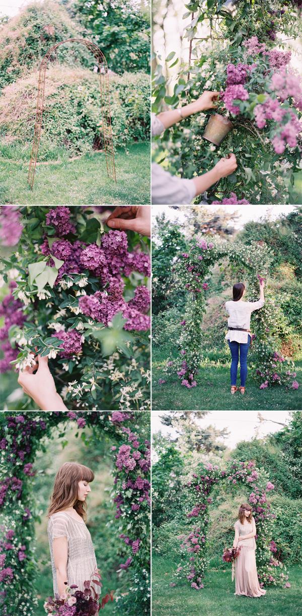DIY Lilac Arch Tutorial Lilac wedding, Wedding ceremony