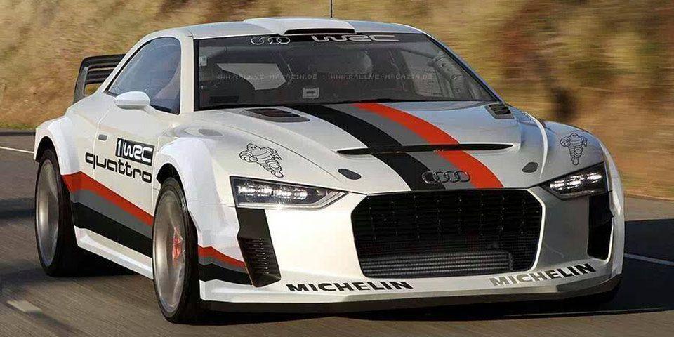 Rendered Rally Version Of Quattro Concept From Rallye Magazin De Fourtitude Com In 2020 Audi Quattro Audi Audi Cars
