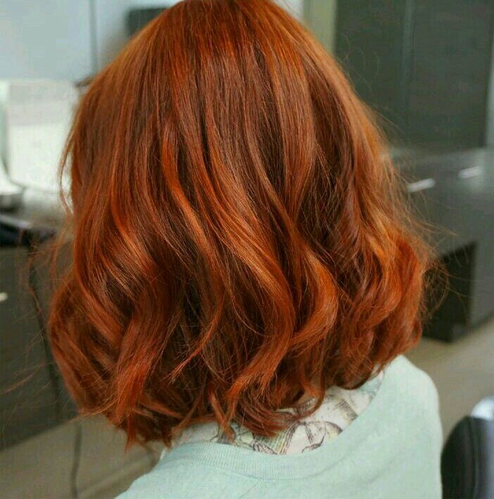 Glory Red Orange Hair Boxed Hair Color