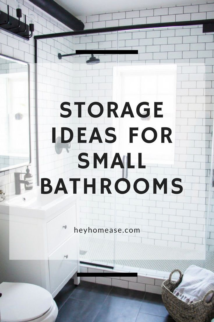 Storage Ideas For Small Bathrooms   Creative Bathroom Storage Ideas ...