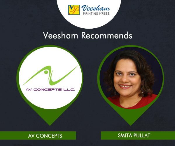 In the business of doing better than their best always, meet Smita Pullat an AV industry expert. | Veesham Printing Press