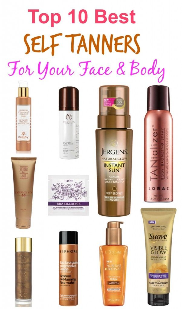 good self tanning products