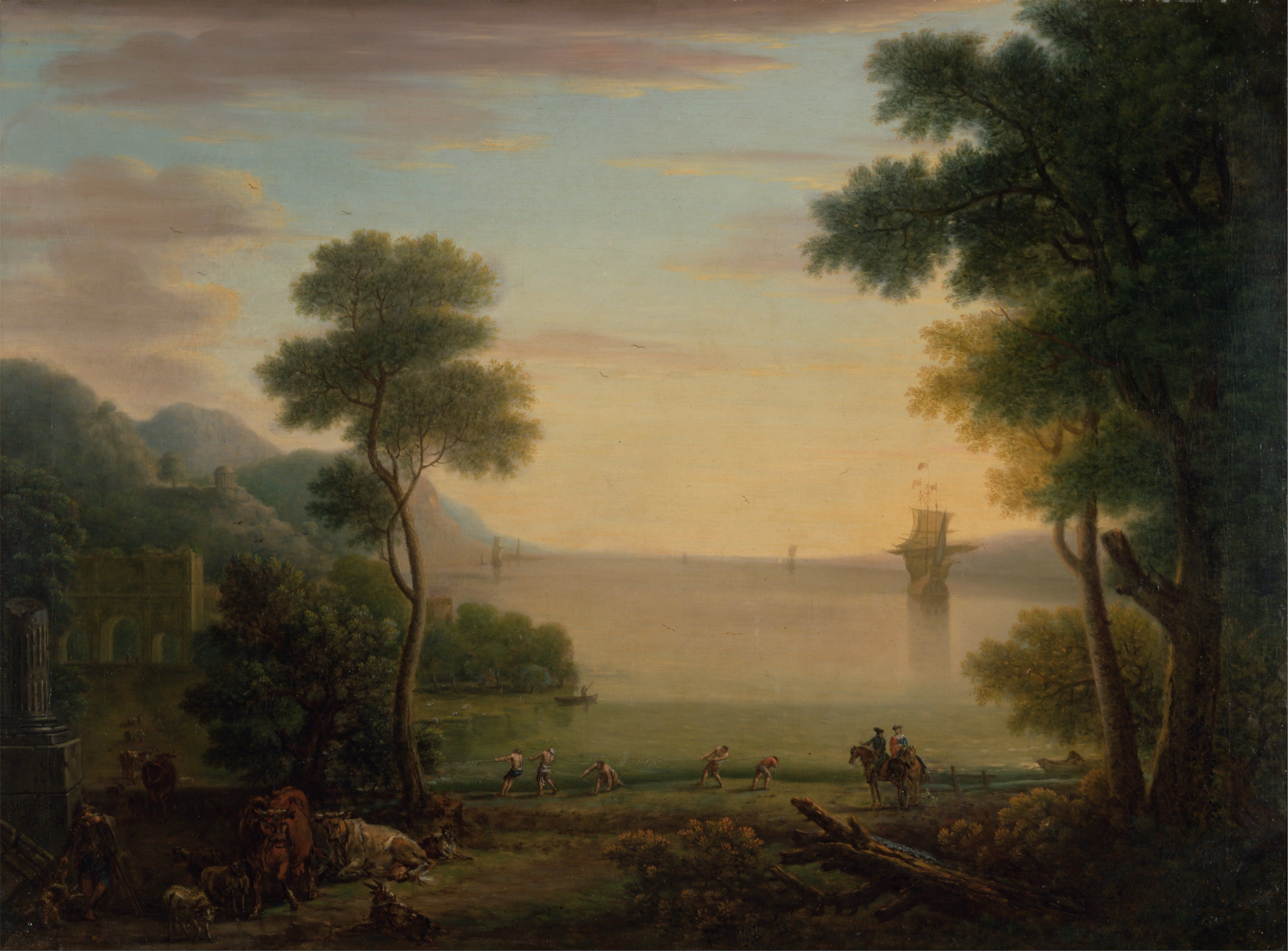 Classical landscape paintings 11,Sinoorigin