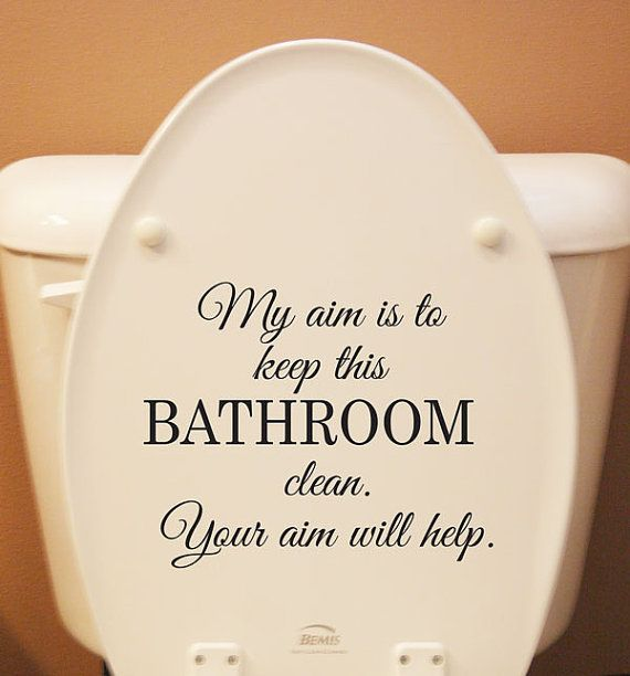 Funny Bathroom Sign For Kids And Maybe A Few Adults My