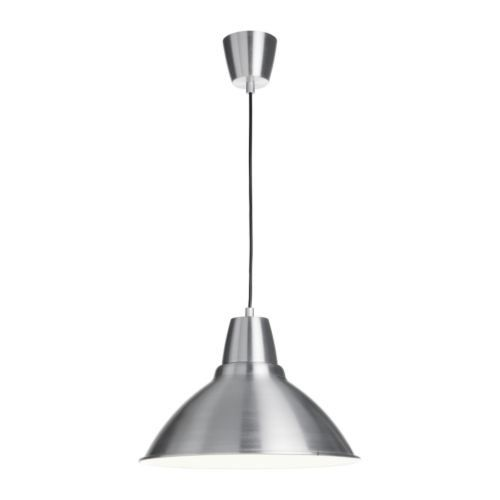 Ikea foto pendant lamp aluminium ikea httpamazon ikea foto pendant lamp aluminium 38 cm gives a directed light good for lighting up for example dining tables or bar tops mozeypictures Images