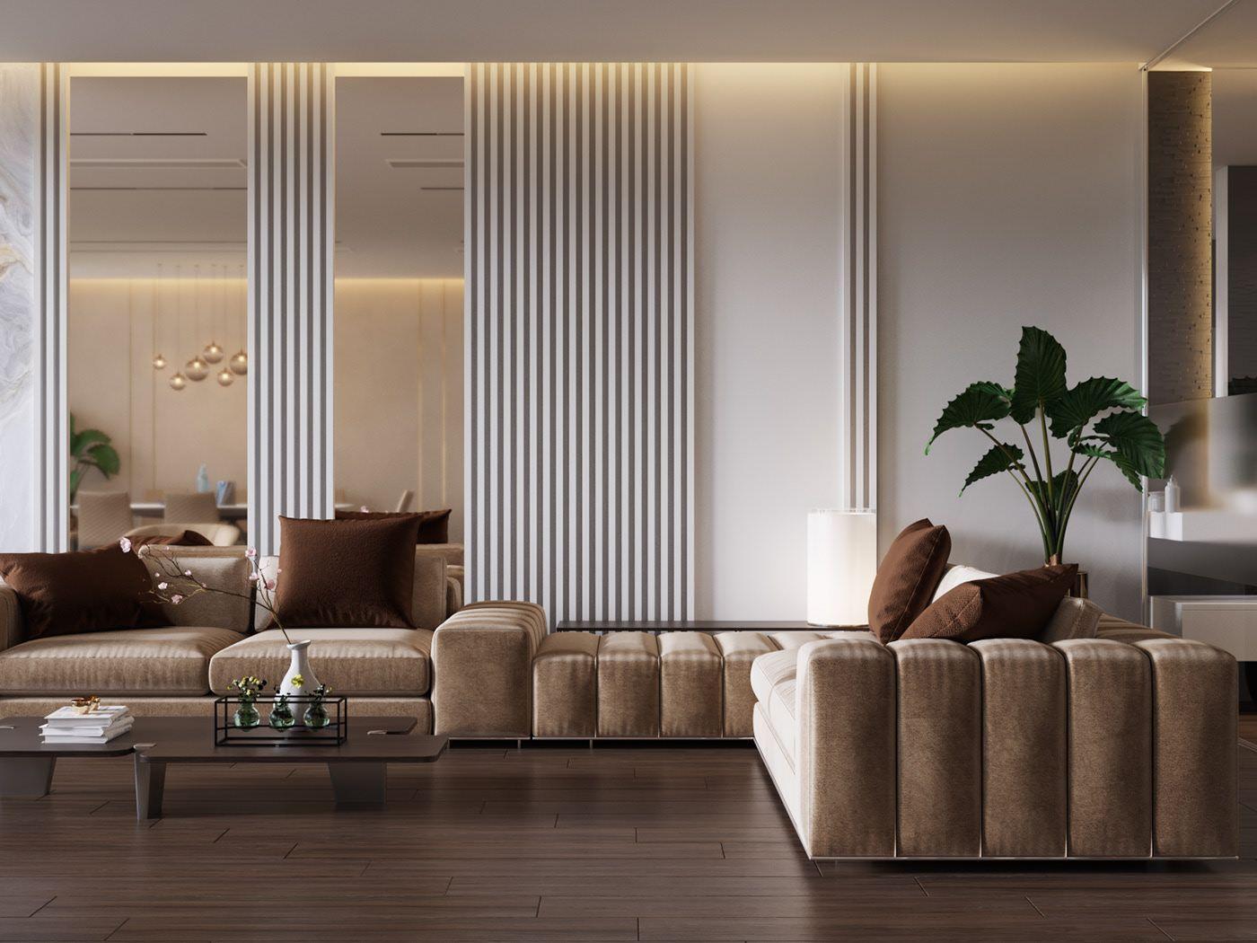Living Area On Behance Basement Living Rooms Living Area Master Bedroom Design