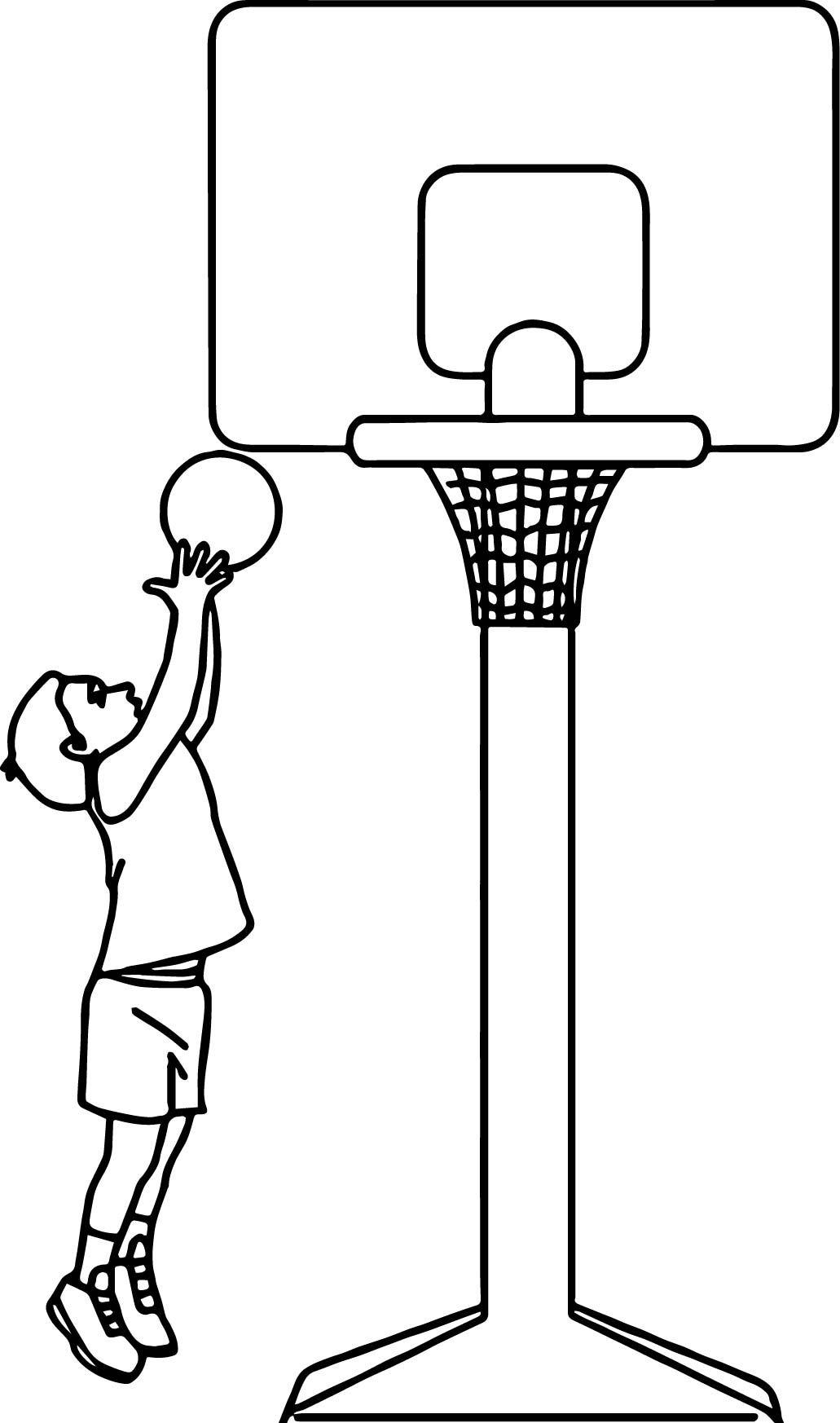 Child Playing Basketball Playing Basketball Coloring Page Sports Coloring Pages Football Coloring Pages Coloring Pages [ 1746 x 1031 Pixel ]