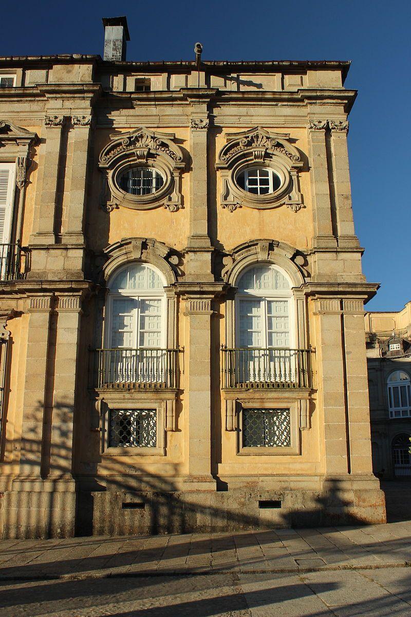 Palacio de La Granja. Patio de la Herradura, Segovia, España