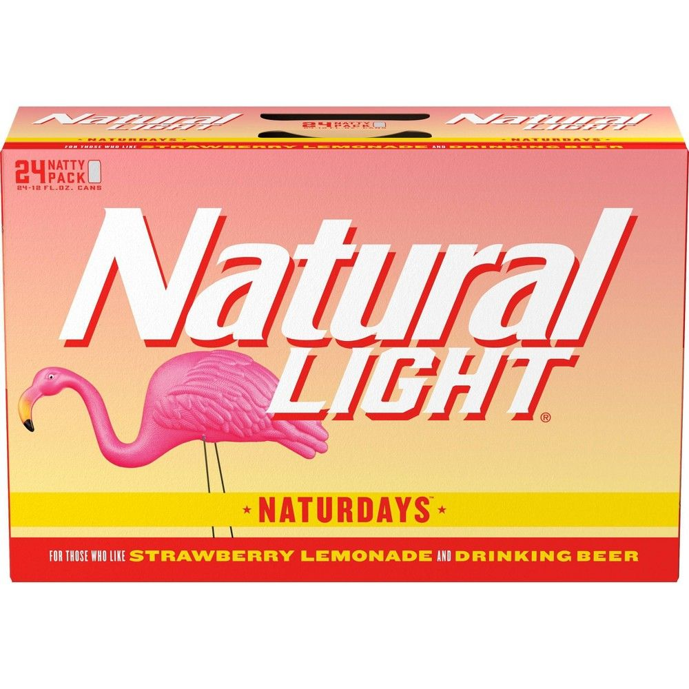 Natural Light Naturdays Lager Beer 24pk 12 Fl Oz Cans In 2020 Lager Beer Drinking Beer Lager