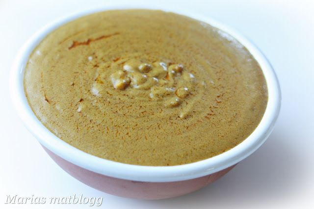 Marias matblogg: Fyldig peanøttsaus (sataysaus)