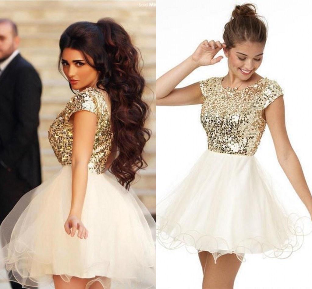 Cocktail bling dresses