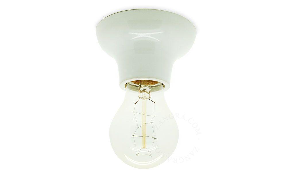 Lampe Applique Plafonnier En Ceramique Porcelaine Zangra Com