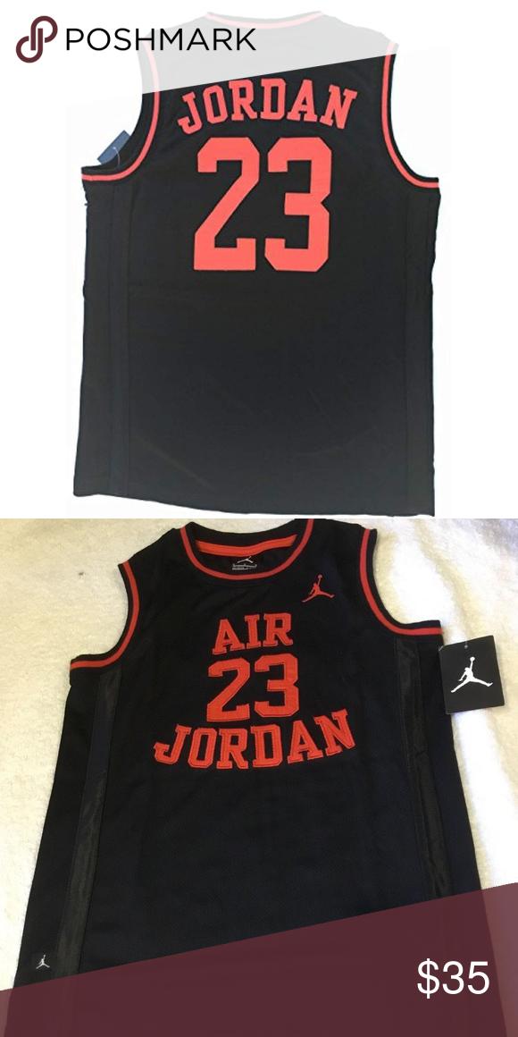 30bc7b35452e01 NIKE Jordan Boy s Youth Classic Mesh Jersey Shirt NIKE Jordan Boy s Youth  Classic Mesh Jersey Shirt