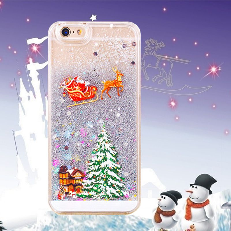 New Christmas Gift Phone Cases For iphone 6 Case 4.7 Lovely Santa ...