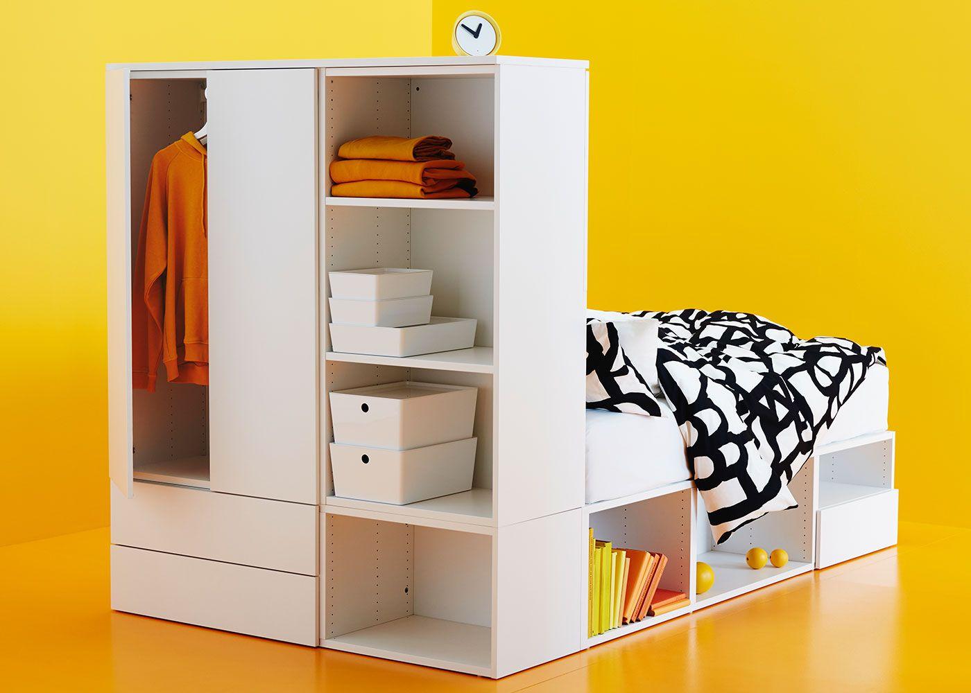 Lit Platsa Lit Rangement Rangement Modulable Et Decoration Maison