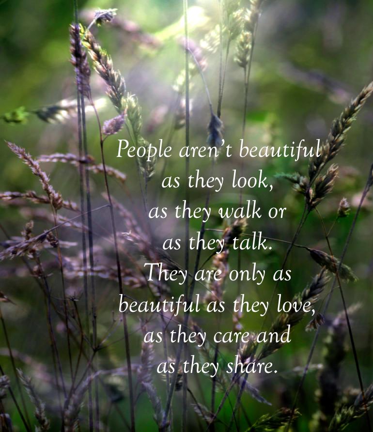 People Aren T Beautiful Quotes Inspirational Words Joy And Sadness