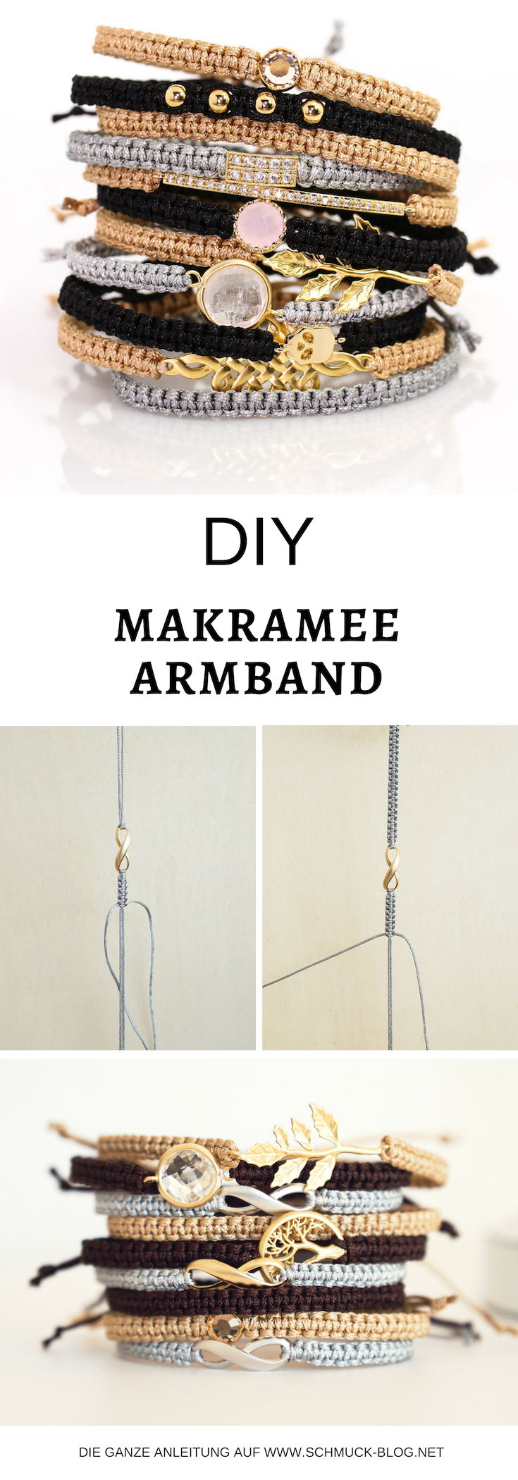 Photo of Making macrame bracelets – simple instructions