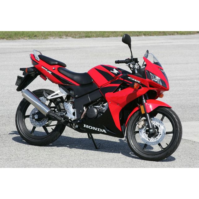 honda cbr 125 r my current bike in white and black bikes. Black Bedroom Furniture Sets. Home Design Ideas