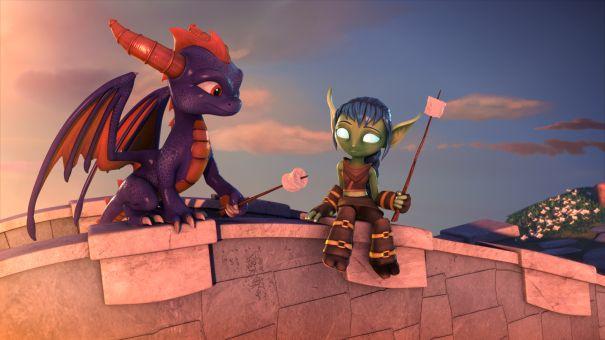 Skylanders Academy' Activision Blizzard Animated Series