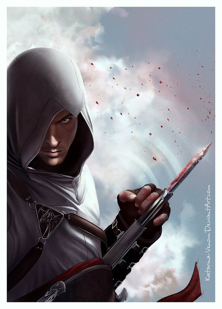 Altair Ibn La Ahad By Katarina Venom On Deviantart Assassins Creed 1 Assassin S Creed I Assassin S Creed