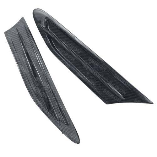 2013 Subaru BRZ Seibon Carbon Fiber Parts BR Style Carbon Fiber Fender Ducts