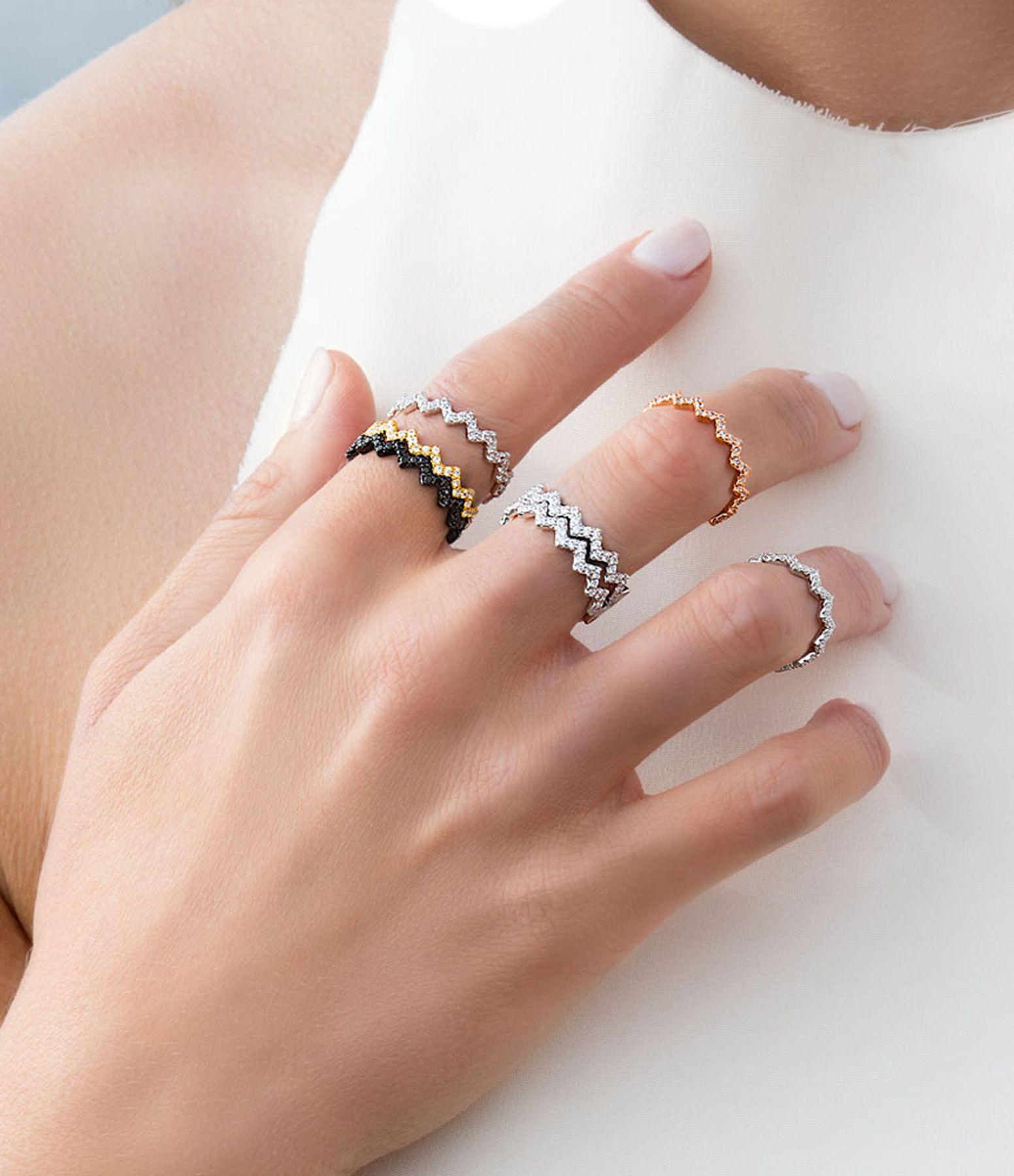 ELEGANCE Or Rose Opale blanc collier bague boucles d/'oreilles Bijoux Set cadeau pour femmes