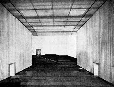 Adolphe Appia | Escenografía, Disenos de unas, Espacio