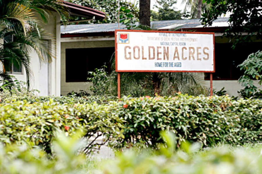 Golden acres home for the aged managed by the department