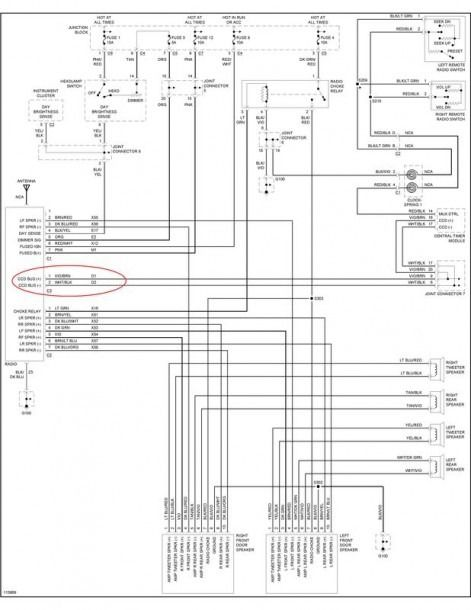 1999 Chrysler Concorde Fuse Box Diagram Diagram 2222