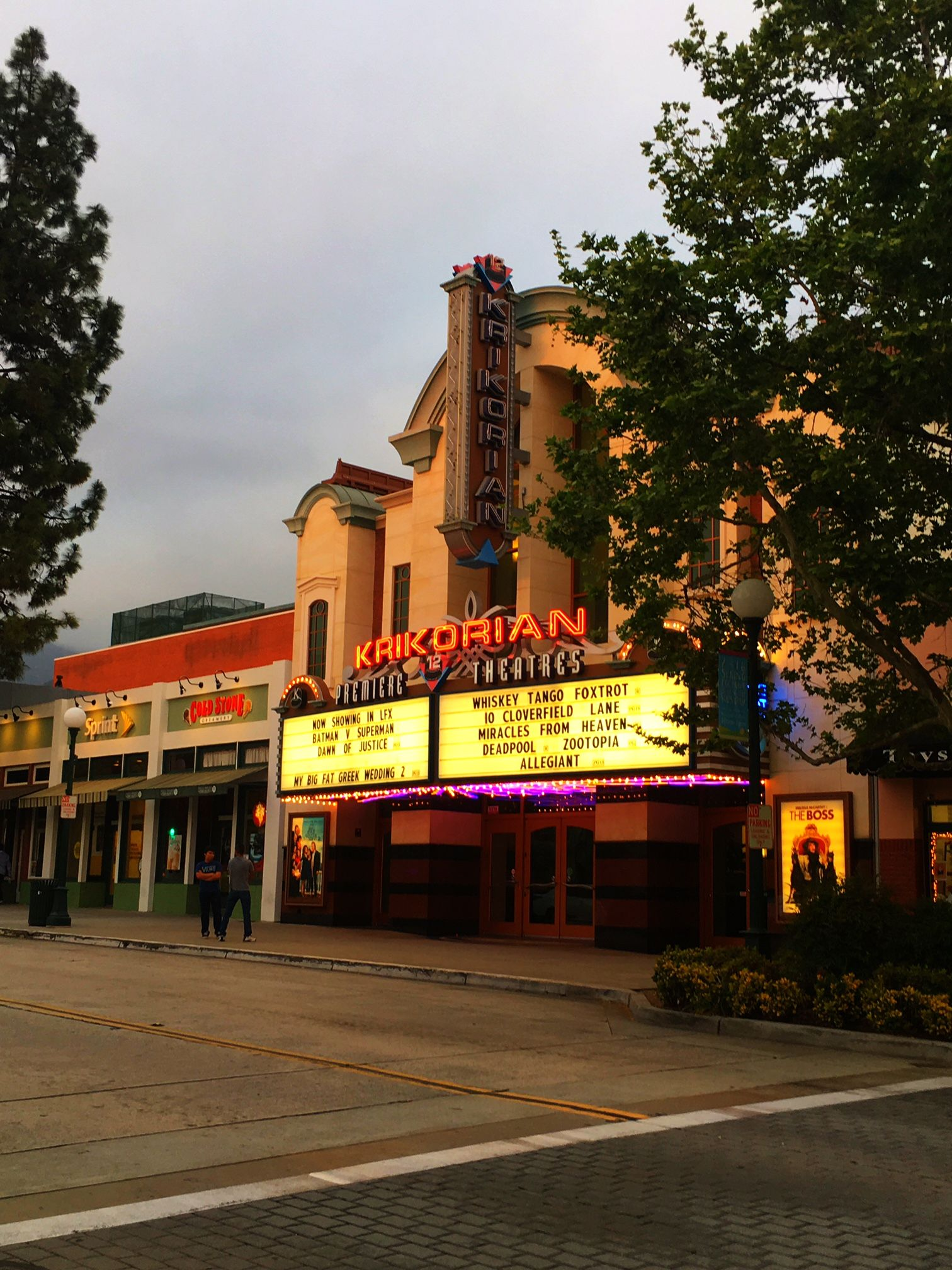 Krikorian Theater in Monrovia City Movie theater, Old town