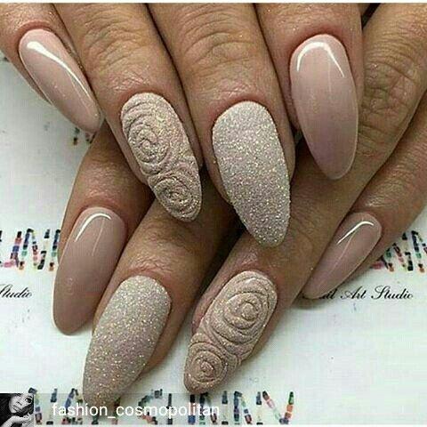 pinkwesi charles on my style  me  beige nails beige