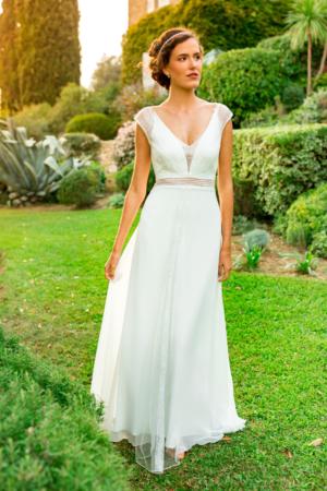 Robe de mariée bohème Eve Marylise, Caralys