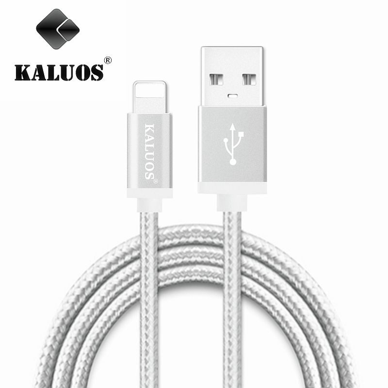 KALUOS 3m Ultra Long Charging Wire iOS10 8 Pin USB Data Sync Charge ...